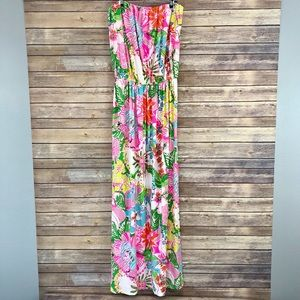 NWT Lilly Pulitzer for Target Strapless Maxi Dress